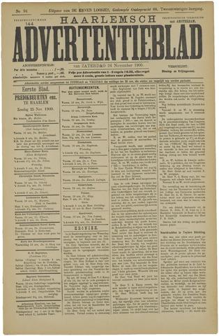 Haarlemsch Advertentieblad 1900-11-24