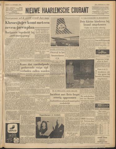 Nieuwe Haarlemsche Courant 1958-11-14