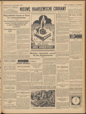 Nieuwe Haarlemsche Courant 1937-09-12
