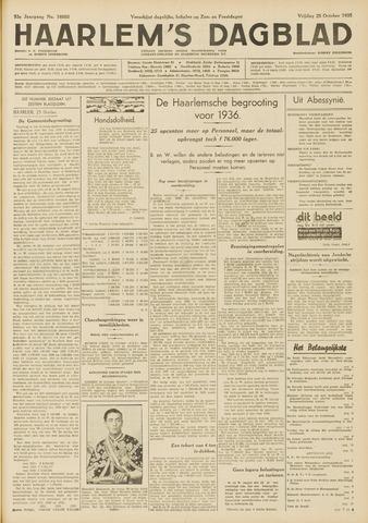Haarlem's Dagblad 1935-10-25