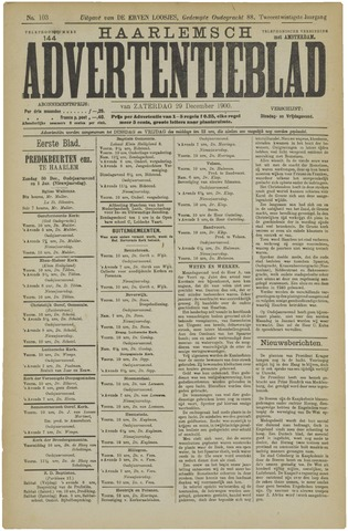 Haarlemsch Advertentieblad 1900-12-29