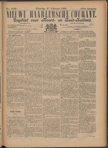 Nieuwe Haarlemsche Courant 1904-02-27