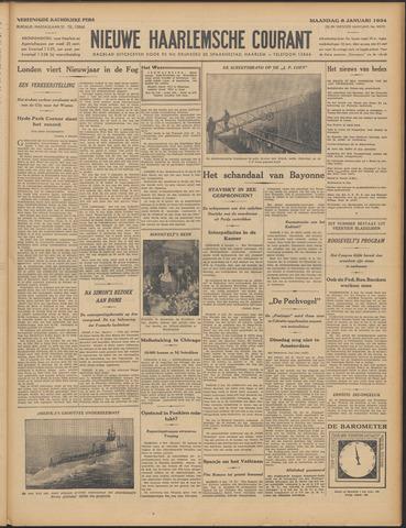 Nieuwe Haarlemsche Courant 1934-01-08