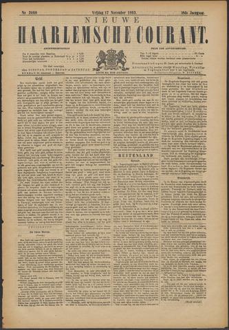 Nieuwe Haarlemsche Courant 1893-11-17