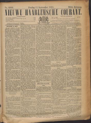 Nieuwe Haarlemsche Courant 1895-09-15