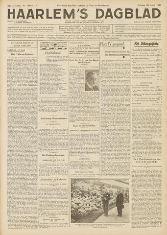 Haarlem's Dagblad 1935-04-26