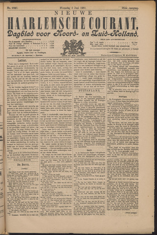 Nieuwe Haarlemsche Courant 1901-06-05