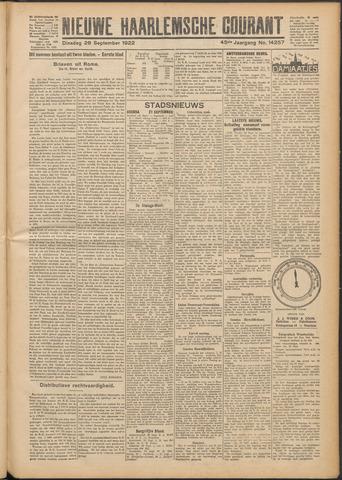 Nieuwe Haarlemsche Courant 1922-09-26