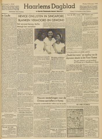 Haarlem's Dagblad 1950-12-12