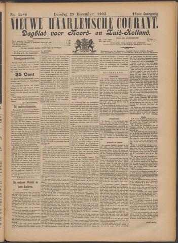 Nieuwe Haarlemsche Courant 1903-12-29