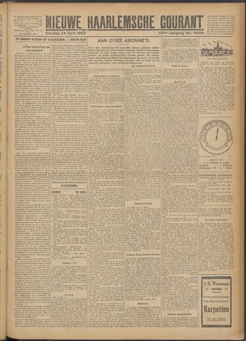 Nieuwe Haarlemsche Courant 1923-04-24