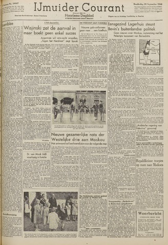 IJmuider Courant 1948-09-23