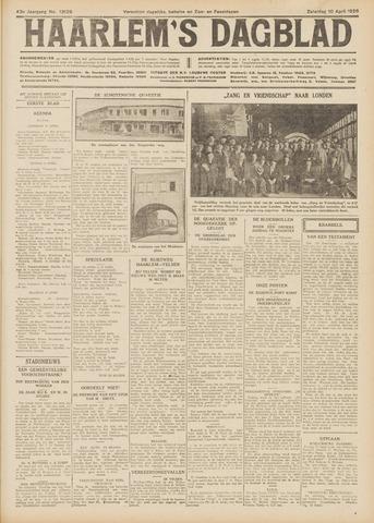 Haarlem's Dagblad 1926-04-10