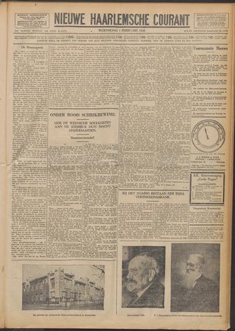 Nieuwe Haarlemsche Courant 1928-02-01