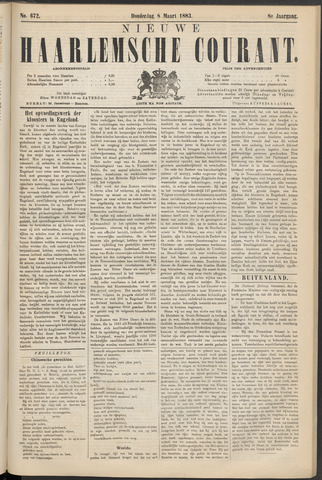 Nieuwe Haarlemsche Courant 1883-03-08