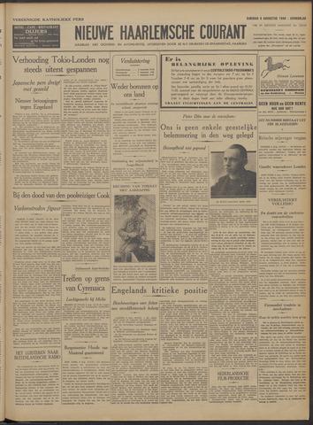Nieuwe Haarlemsche Courant 1940-08-06
