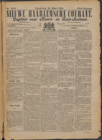 Nieuwe Haarlemsche Courant 1904-03-24
