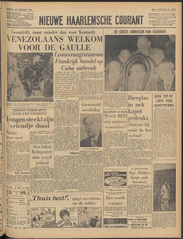 Nieuwe Haarlemsche Courant 1964-09-22