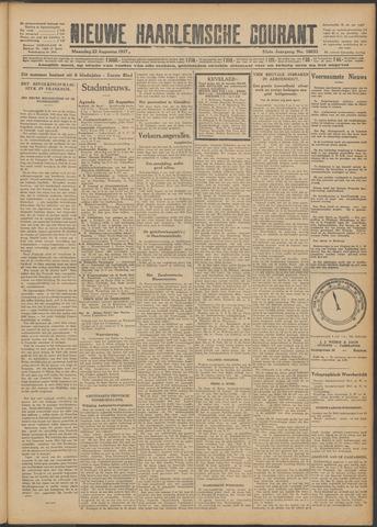 Nieuwe Haarlemsche Courant 1927-08-22