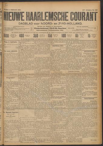 Nieuwe Haarlemsche Courant 1909-02-05