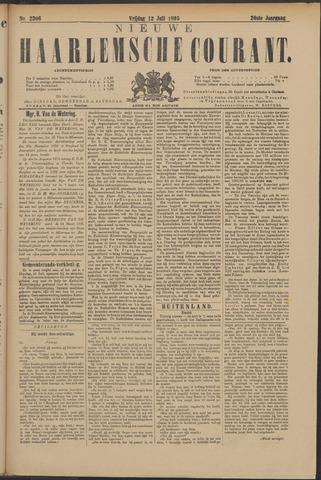Nieuwe Haarlemsche Courant 1895-07-12