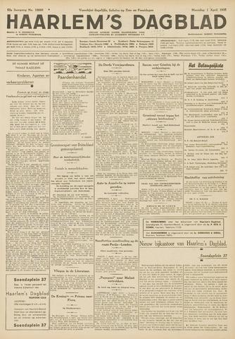 Haarlem's Dagblad 1935-04-01