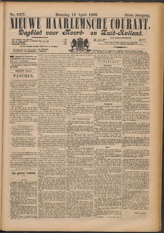 Nieuwe Haarlemsche Courant 1906-04-16