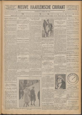 Nieuwe Haarlemsche Courant 1930-02-18
