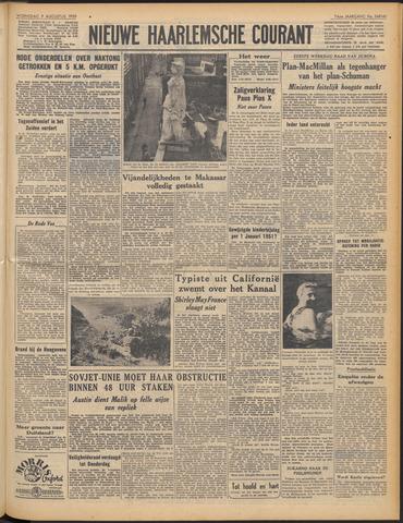 Nieuwe Haarlemsche Courant 1950-08-09