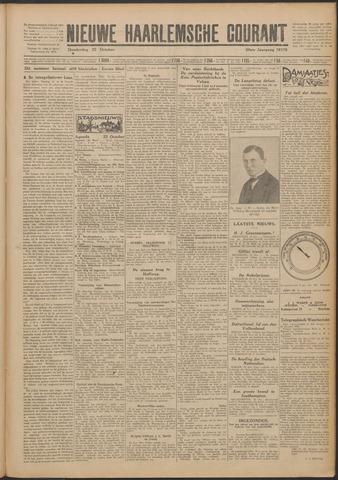 Nieuwe Haarlemsche Courant 1925-10-22