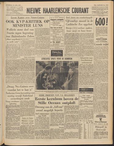 Nieuwe Haarlemsche Courant 1962-04-26