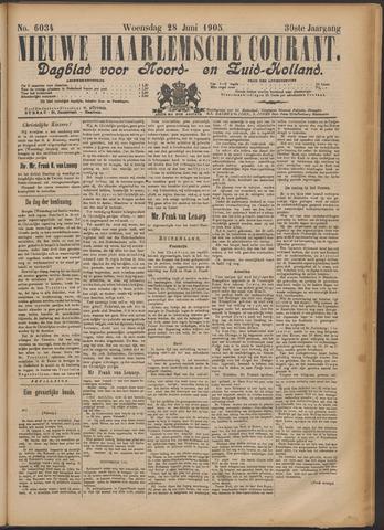 Nieuwe Haarlemsche Courant 1905-06-28