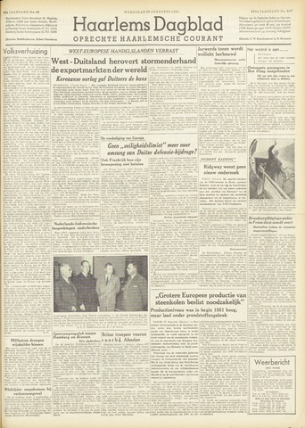 Haarlem's Dagblad 1951-08-29