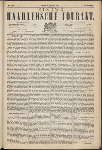 Nieuwe Haarlemsche Courant 1881-10-09