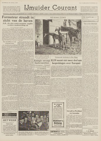 IJmuider Courant 1959-04-28
