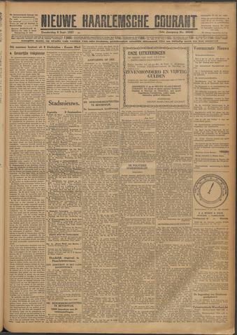 Nieuwe Haarlemsche Courant 1927-09-08