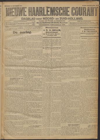 Nieuwe Haarlemsche Courant 1914-10-02