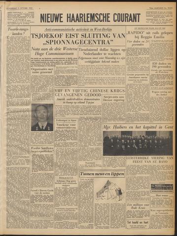 Nieuwe Haarlemsche Courant 1952-10-02