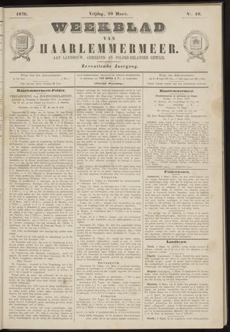Weekblad van Haarlemmermeer 1876-03-10