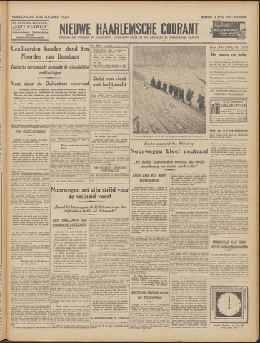 Nieuwe Haarlemsche Courant 1940-04-29