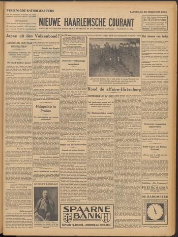 Nieuwe Haarlemsche Courant 1933-02-25