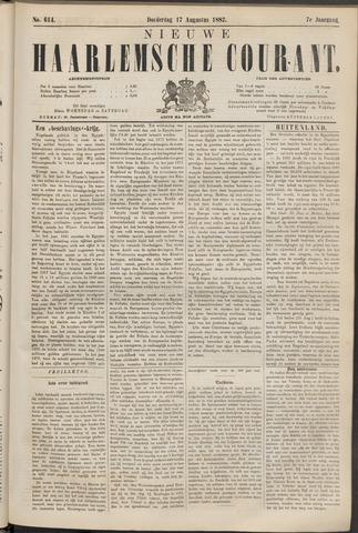 Nieuwe Haarlemsche Courant 1882-08-17