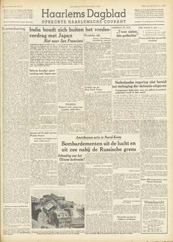 Haarlem's Dagblad 1951-08-27