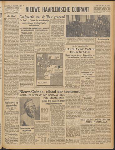 Nieuwe Haarlemsche Courant 1948-01-27