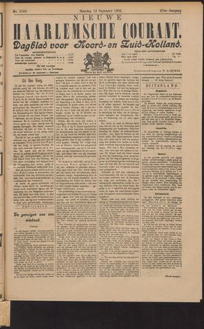 Nieuwe Haarlemsche Courant 1902-09-13