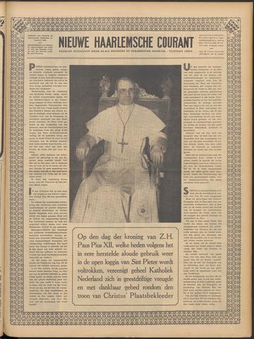 Nieuwe Haarlemsche Courant 1939-03-12