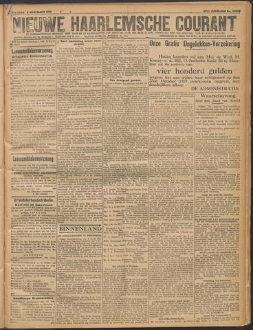 Nieuwe Haarlemsche Courant 1919-11-08