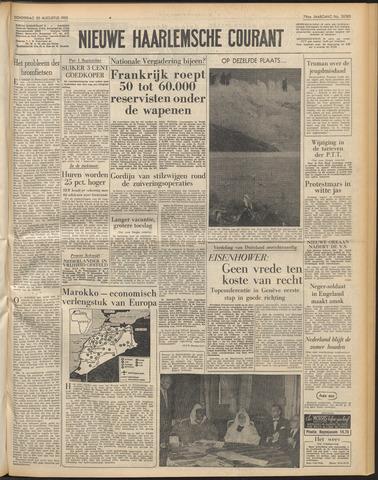 Nieuwe Haarlemsche Courant 1955-08-25