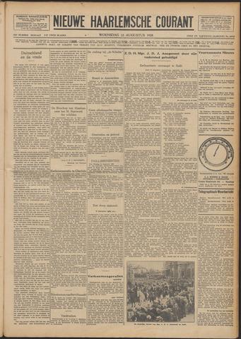 Nieuwe Haarlemsche Courant 1928-08-22