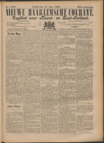 Nieuwe Haarlemsche Courant 1903-06-25